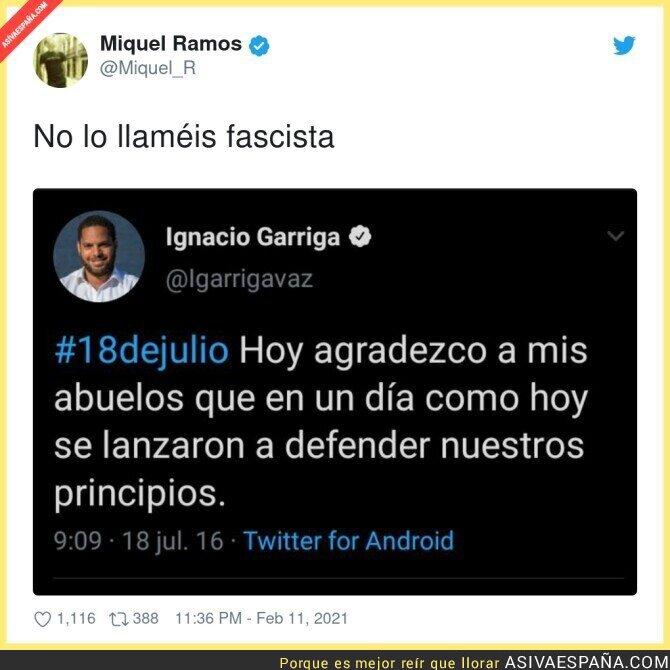 595684 - La verdadera cara de Ignacio Garriga