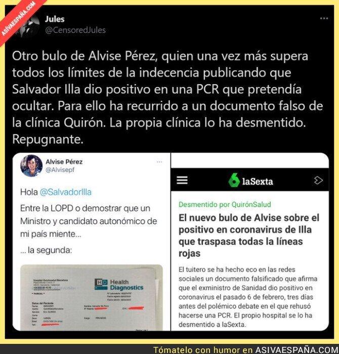 595999 - Alvise Pérez sigue haciendo de las suyas