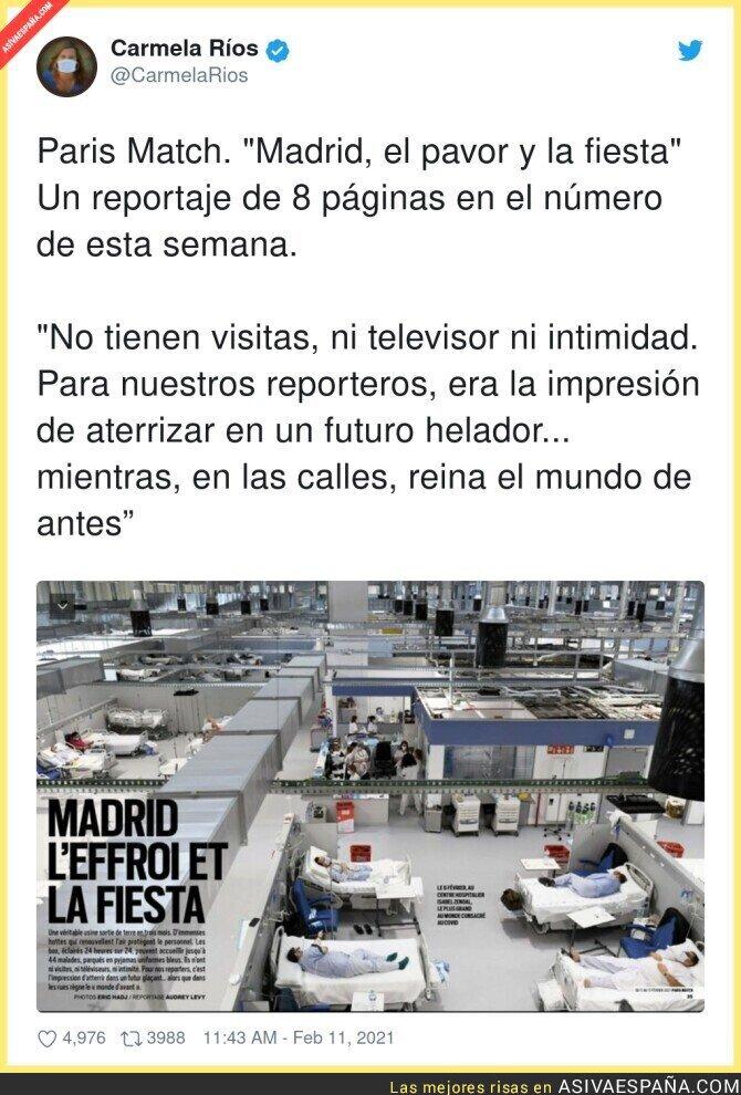 596434 - Europa alucina con el Hospital de Isabel Díaz Ayuso