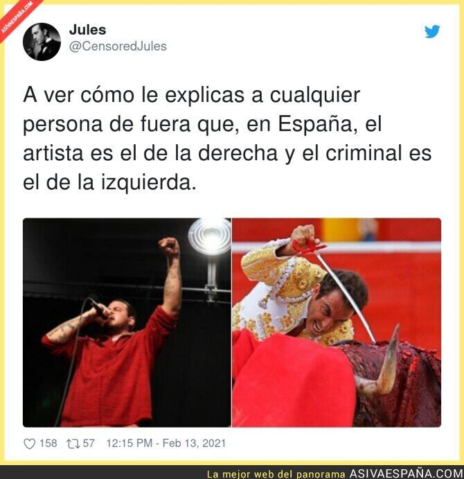 597373 - Surrealismo en estado puro lo de España