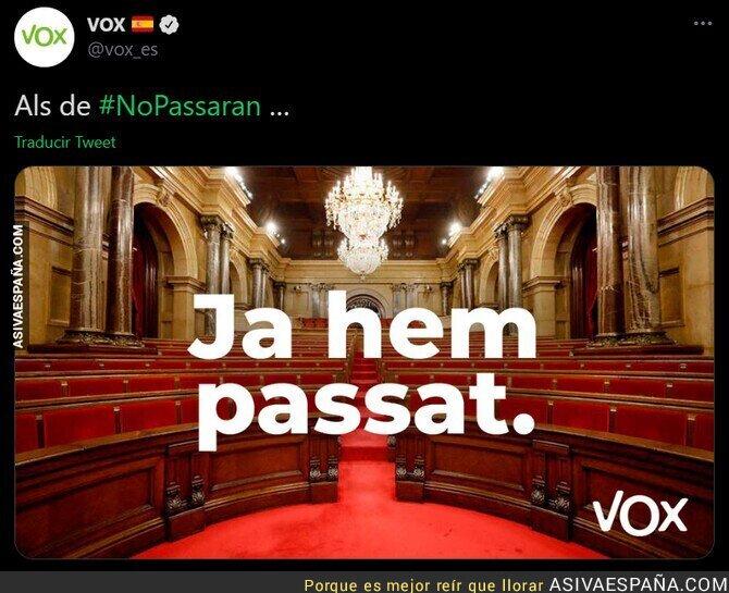 601104 - El fascismo de VOX aterriza en el Parlament de Catalunya