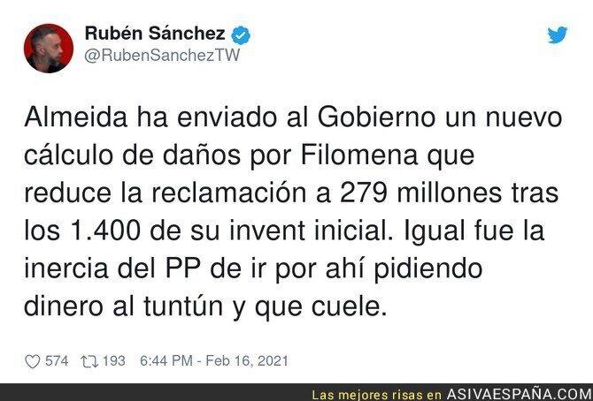 604286 - Madrid intentó estafar al Gobierno con el Filomena