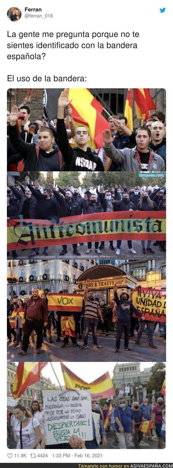 608161 - La ultraderecha hace odiar la bandera española
