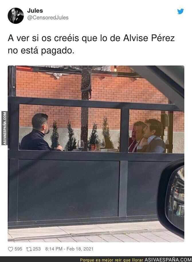 609326 - Alvise Pérez y la gran amistad que tiene detrás de todos sus bulos