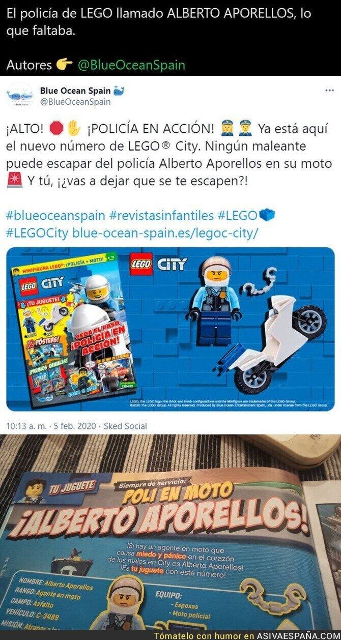 610730 - La revista LEGO (editada por Blue Ocean) se pasa de frenada