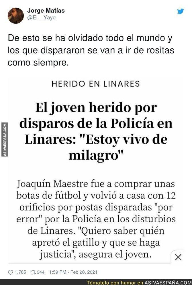 614245 - Que no quede impune lo de Linares
