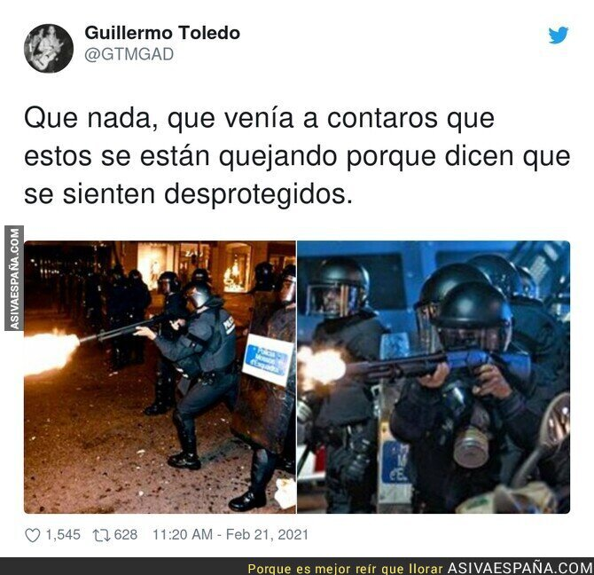 614726 - La brutalidad policial en las protestas