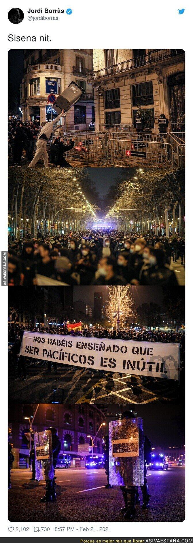 615482 - Otra noche más de protestas