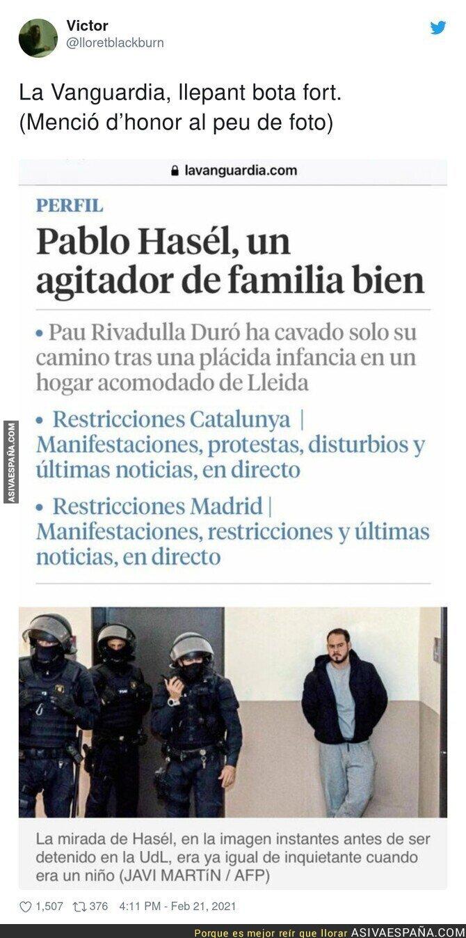 616048 - 'La Vanguardia' ha elegido su bando