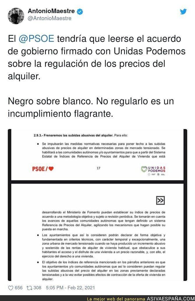 616767 - El PSOE está allanando el terreno para un gobierno alternativo