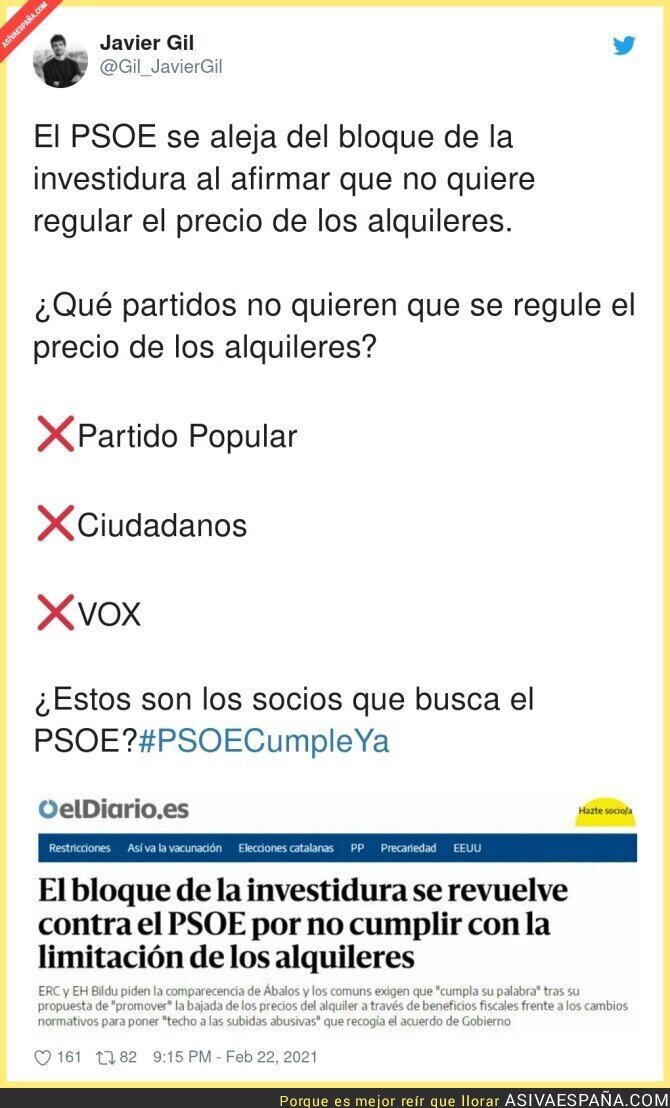 617405 - Promesa incumplida del PSOE