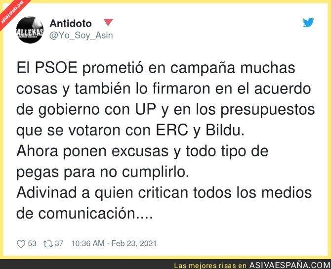 617847 - La poca palabra del PSOE