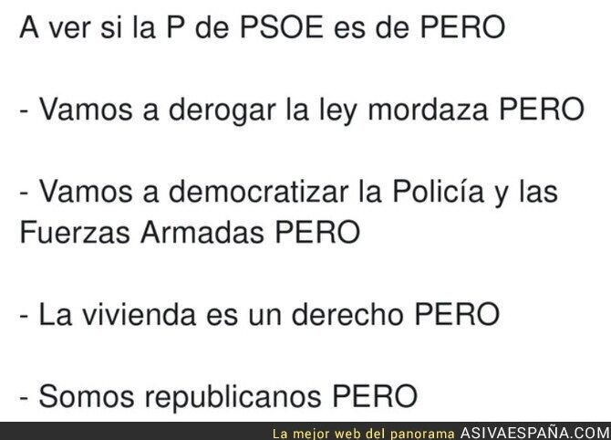 617980 - Muchos PERO en la historia del PSOE