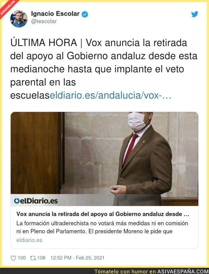 620461 - VOX toma la ofensiva en Andalucía