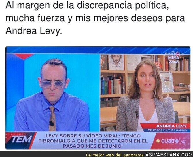 620637 - ¡Ánimo Andrea Levy!