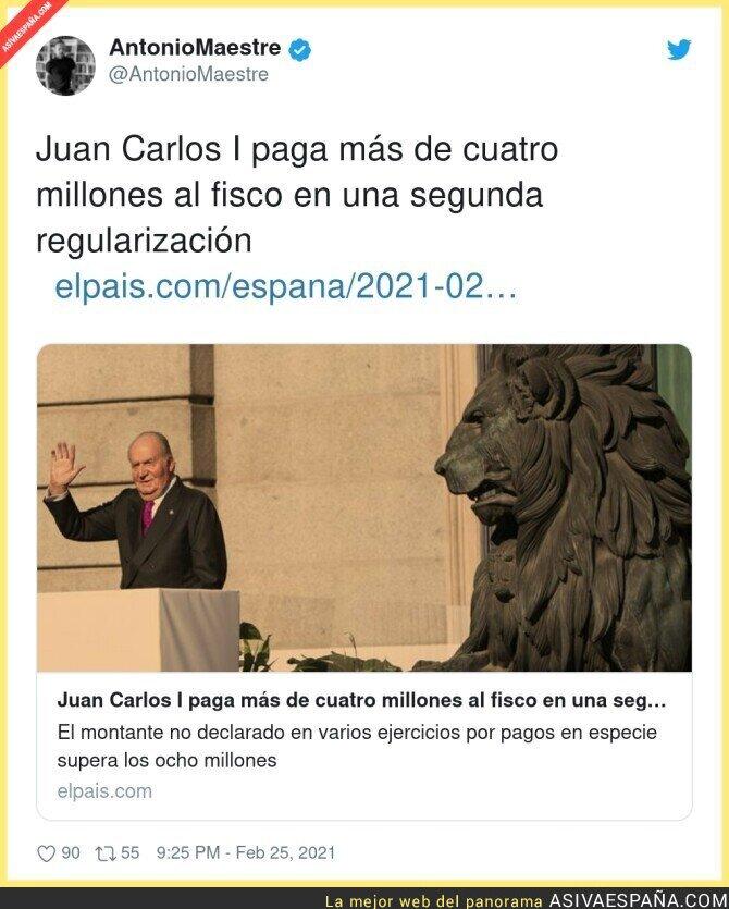 621038 - Menos mal que Juan Carlos tenía todo en regla...