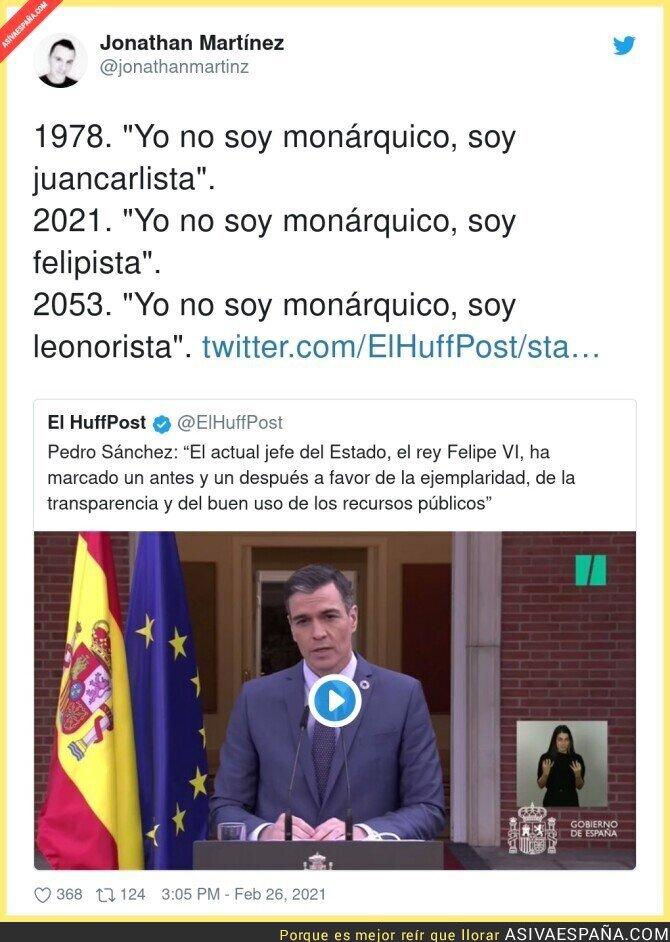622012 - La Monarquía no tiene sentido en España desde hace mucho