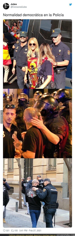 623344 - El compadreo de la policía con la ultraderecha