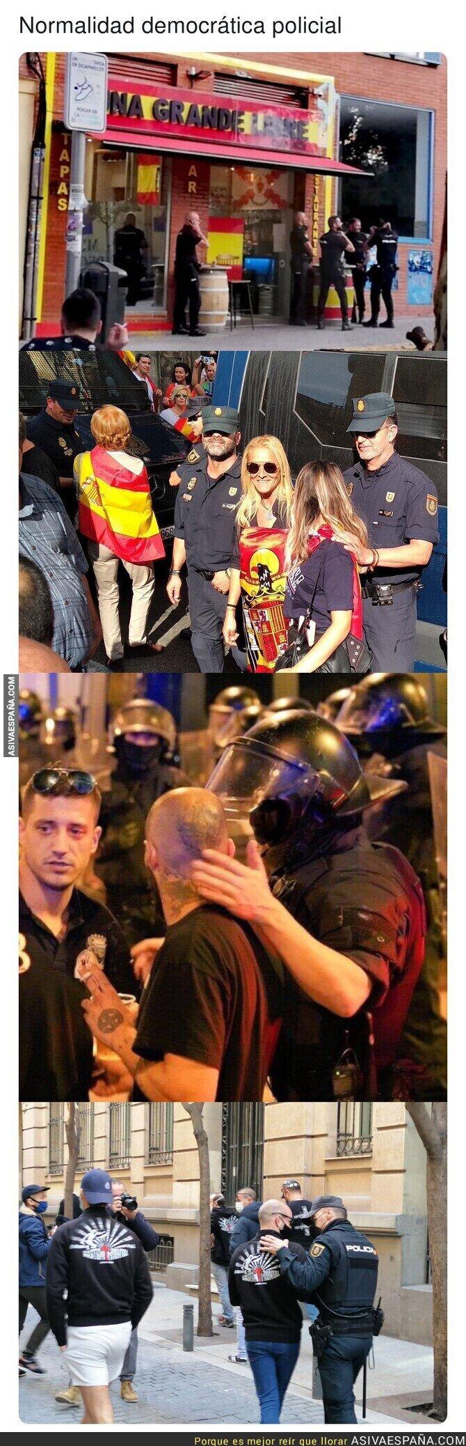 625656 - España no avanza con estos comportamientos de los cuerpos de seguridad