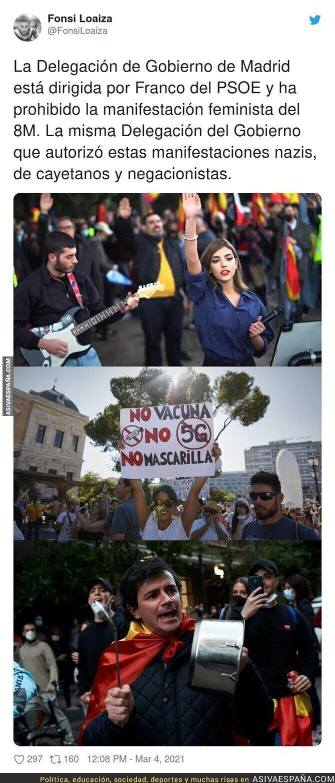 629657 - Las manifestaciones que están encantados de recibir en Madrid