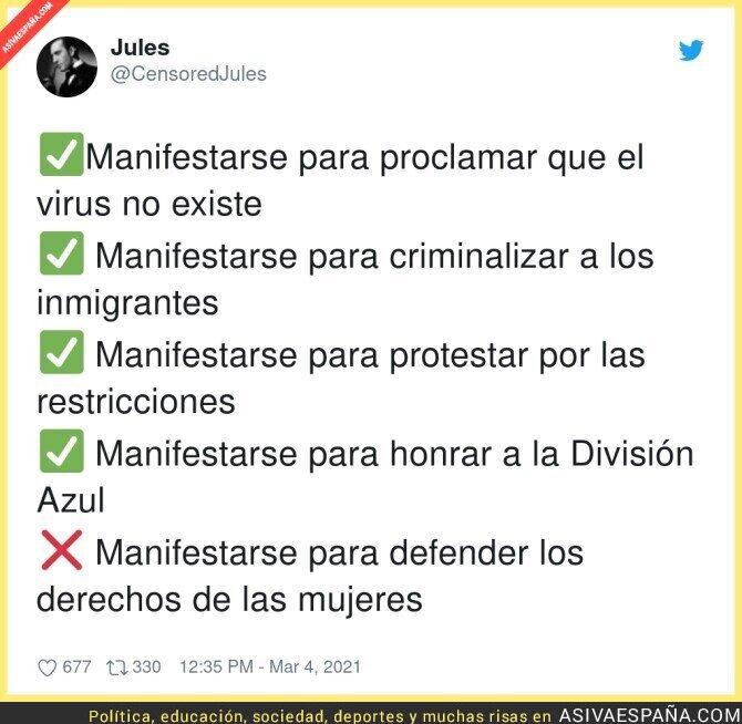 629762 - Las manifestaciones que gusta en Madrid