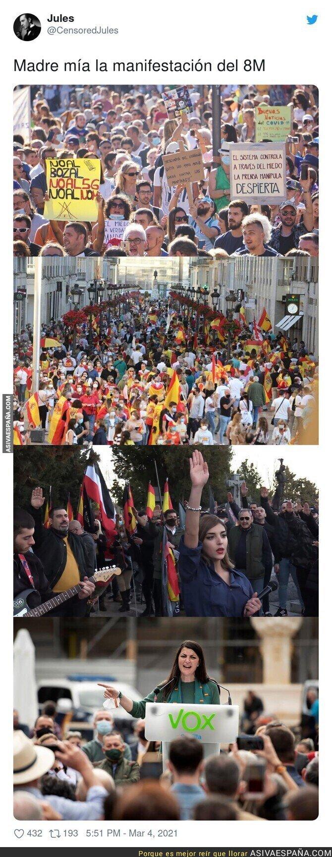 630251 - Las manifestaciones de los grandes patriotas