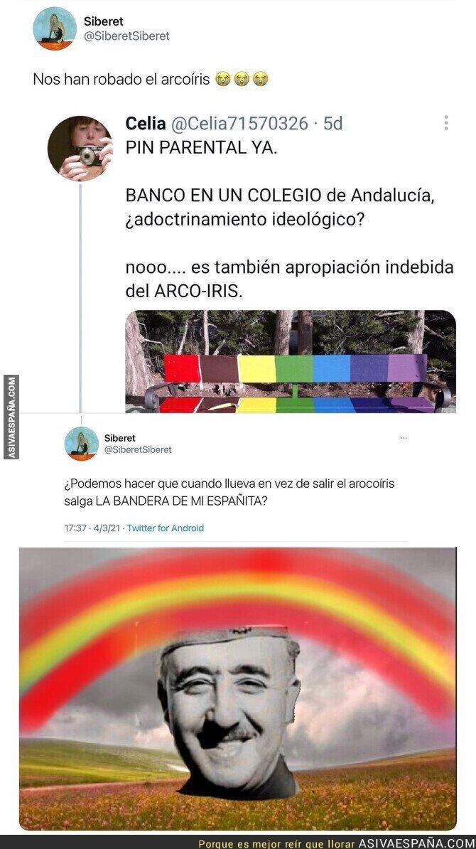 630413 - La apropiación indebida del arcoiris