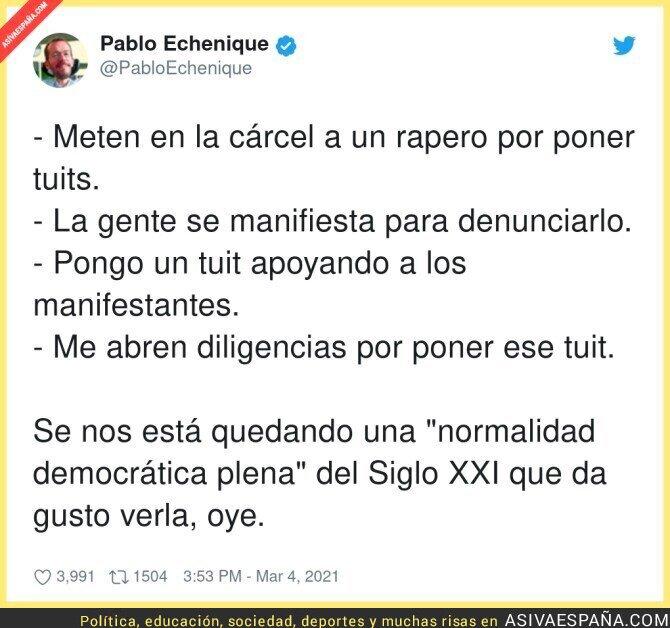 630597 - La libertad que hay en España da miedo
