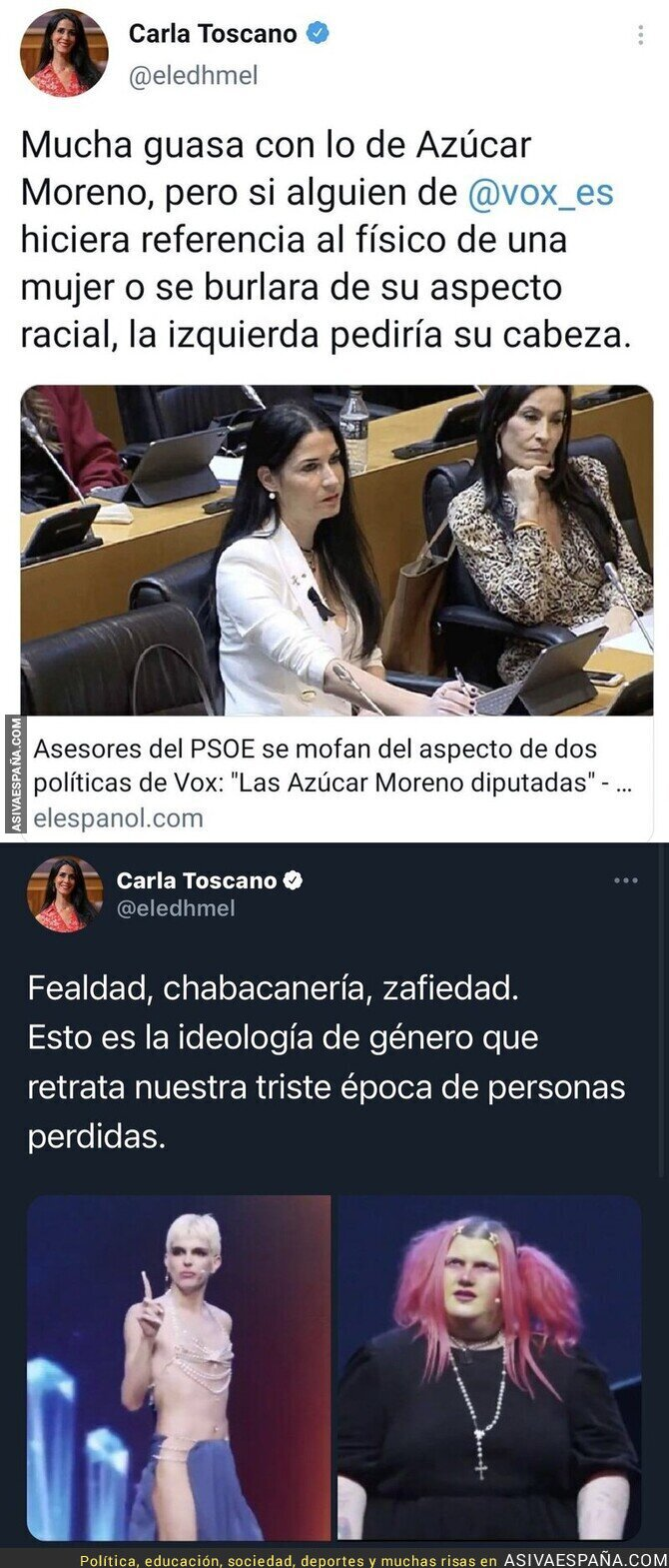 633775 - ¿Y ahora qué Carla Toscano?