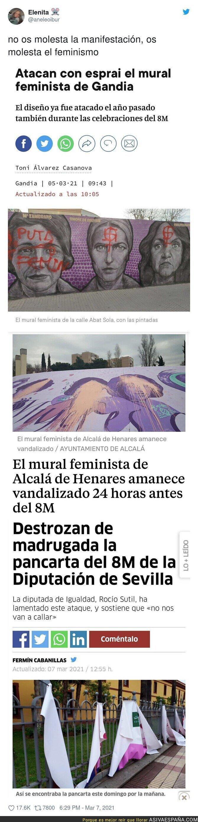 634955 - Así ataca la ultraderecha al movimiento feminista