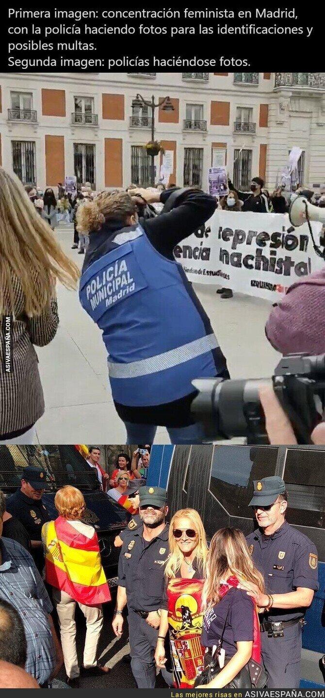 635726 - Imágenes de la policía que duelen
