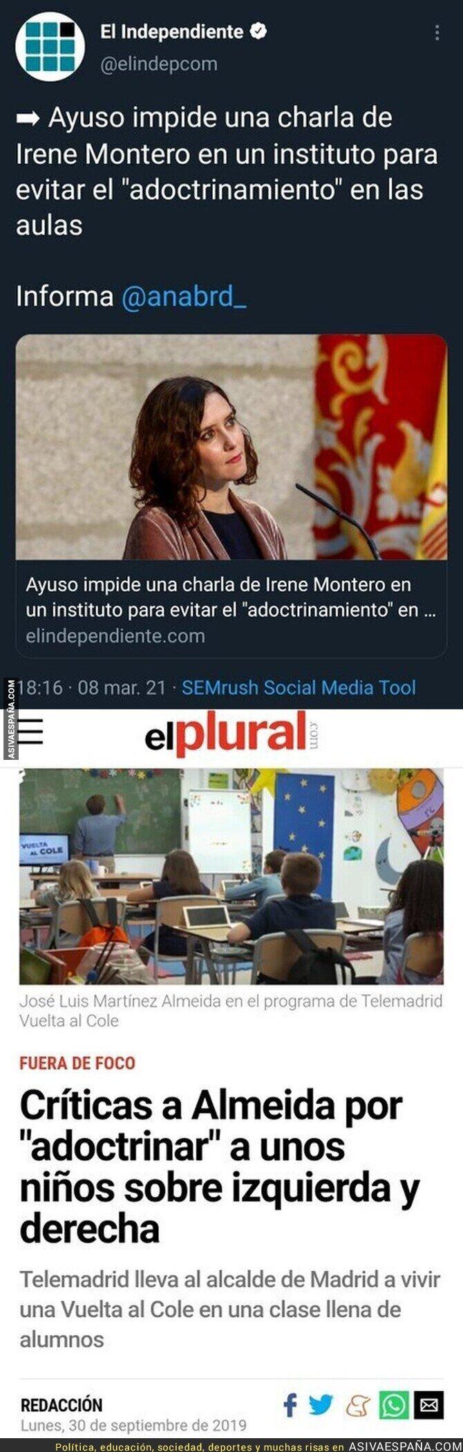 636963 - El adoctrinamiento en Madrid