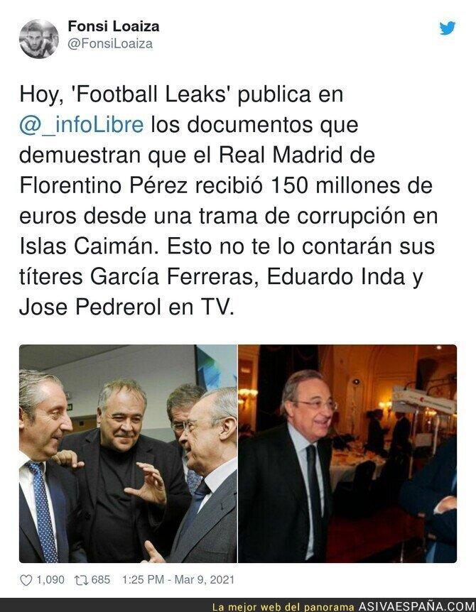 637188 - Sigue el escándalo del Real Madrid