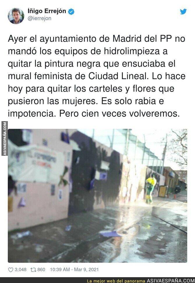 637322 - La derecha quiere hacer invisible el movimiento feminista sea como sea