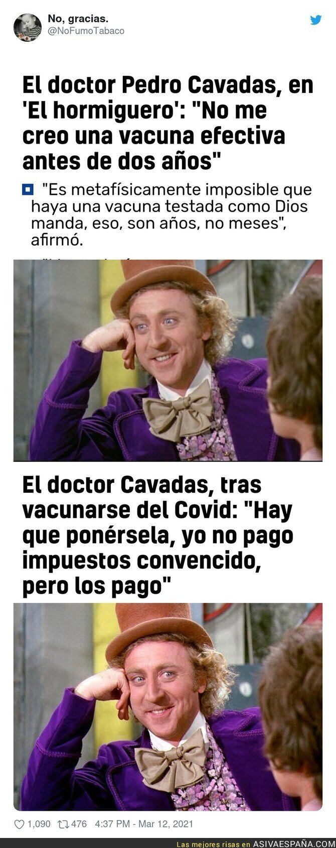 644202 - El doctor Cavadas echa marcha atrás