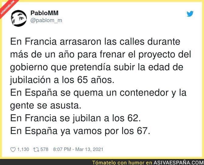 645286 - La diferencia entre España y Francia