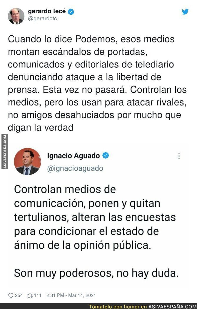 646304 - Ignacio Aguado está muy confuso