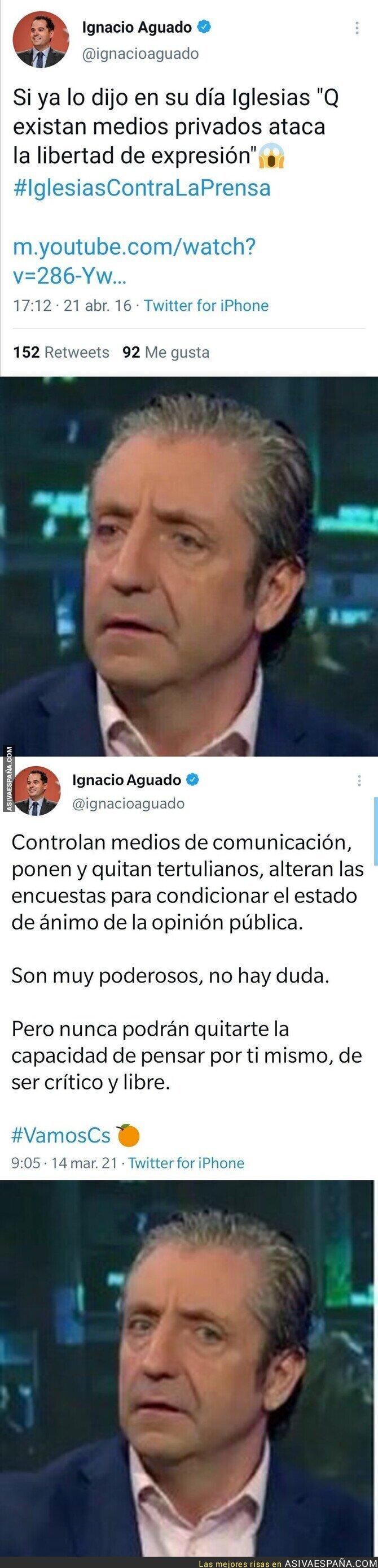647278 - El cambio de discurso de Ignacio Aguado