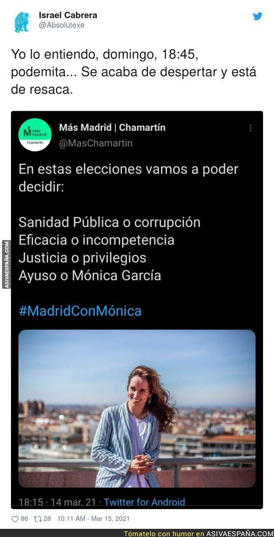 647420 - El lapsus de Más Madrid