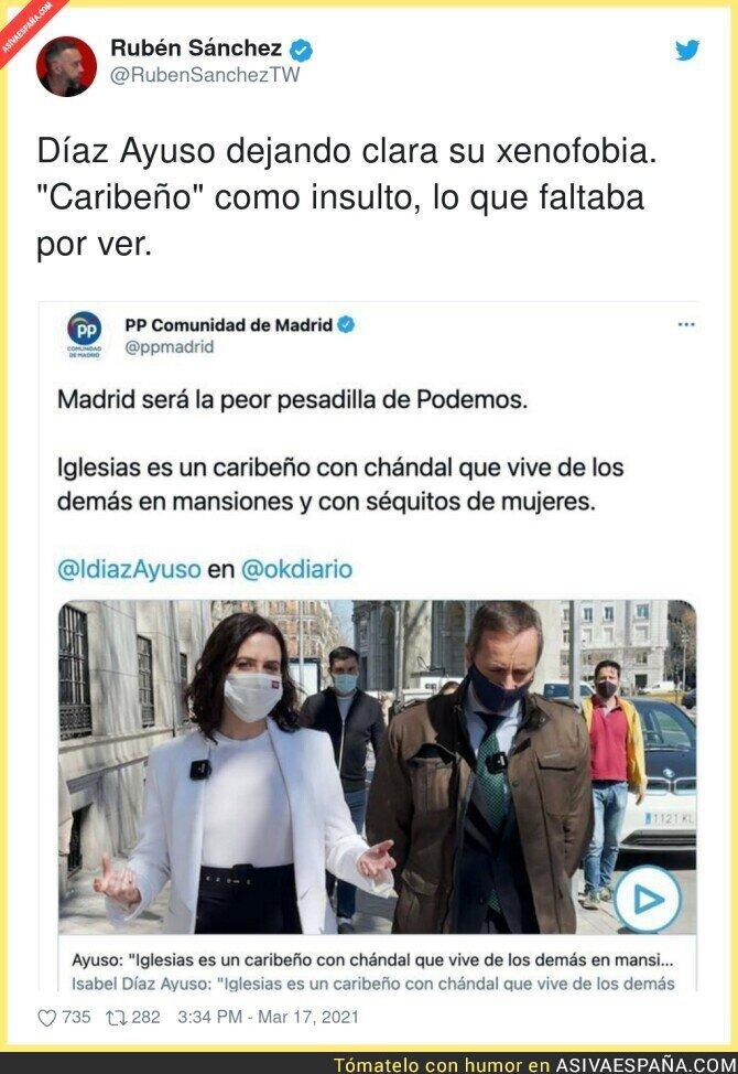 652080 - Isabel Díaz Ayuso y su discurso de odio