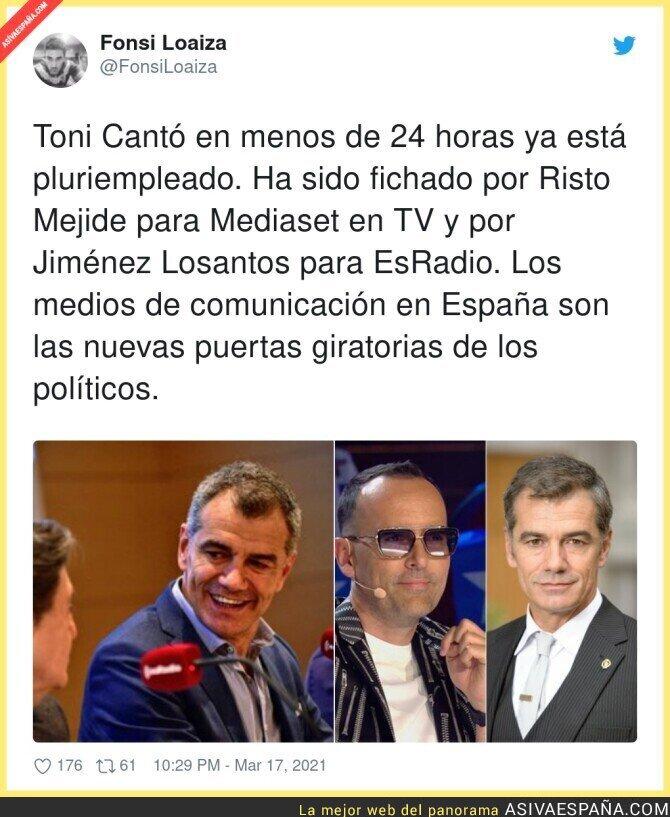 652710 - Toni Cantó ya tiene la vida resuelta