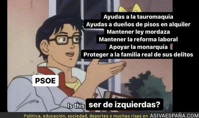 653325 - Ser de izquierdas en el PSOE es complicado