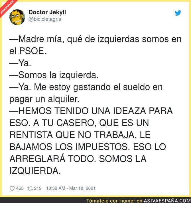 654215 - Gran idea del PSOE que no le gusta a nadie solo a los ricos