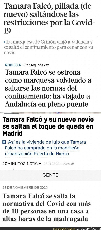 654967 - ¿A qué espera la Policía a hacer algo con Tamara Falcó?
