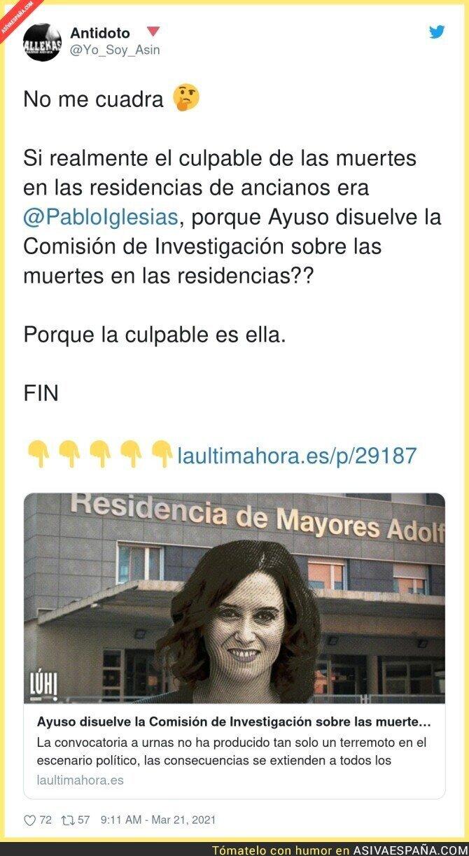 657565 - Todas las miradas apuntan a Isabel Díaz Ayuso