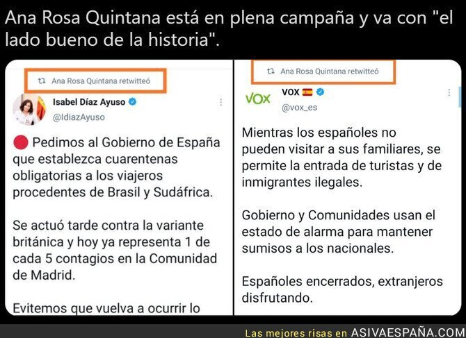 658143 - Ana Rosa Quintana ya ha elegido bando
