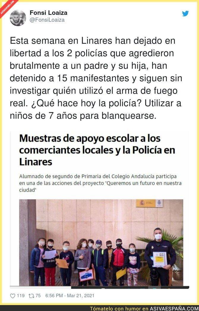 658325 - El adoctrinamiento llega a Linares
