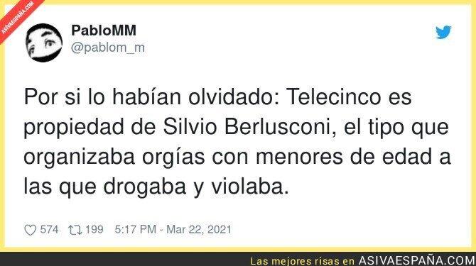 659658 - Hay que tener presente esto de Telecinco