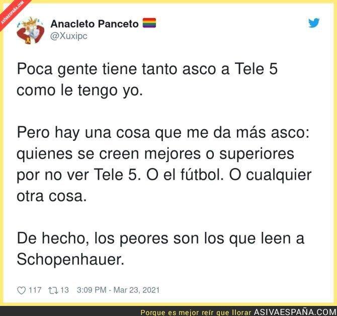 661048 - La superioridad que creen que tienen los que no ven Telecinco
