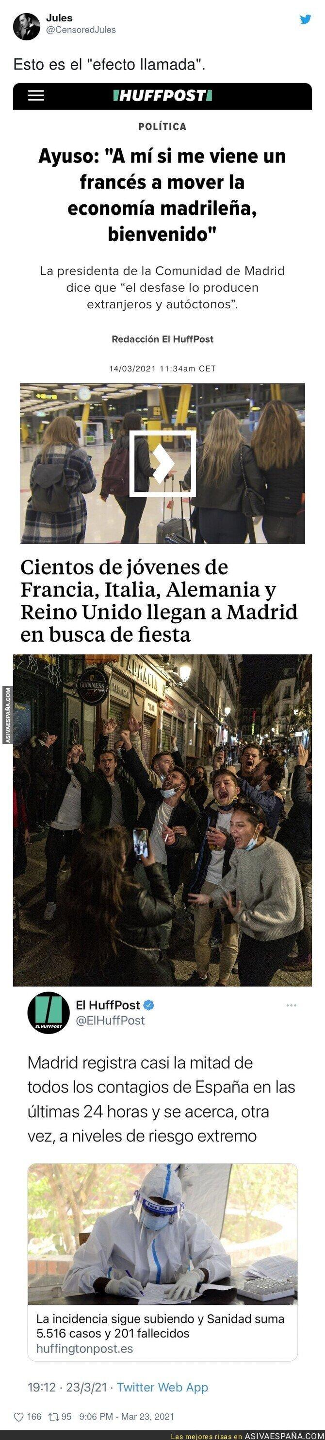661486 - Así la ha liado Isabel Díaz Ayuso en Madrid trayendo turistas en plena pandemia